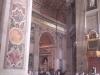 vnitřek chrámu sv. Petra
