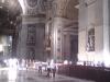 vnitřek chrámu