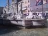 fontána na náměstí Savone v Římě