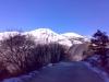hory Umbrie v zimě