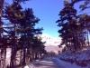 Apeniny v zimě