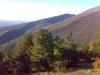 hory v Umbrii v létě