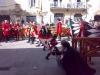 festival Giochi delle Porte ve městě Gualdo Tadino