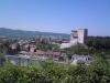 pevnost Rocca Flea ve městě Gualdo Tadino