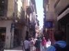 hlavní ulice ve Veroně - vždy plná turistů