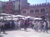 náměstí Erbe plné turistů
