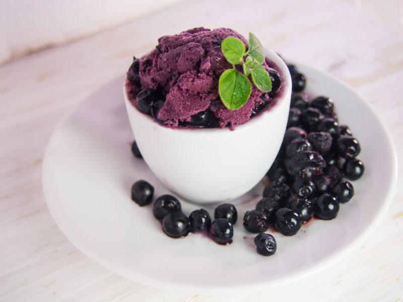 borůvková zmrzlina italská